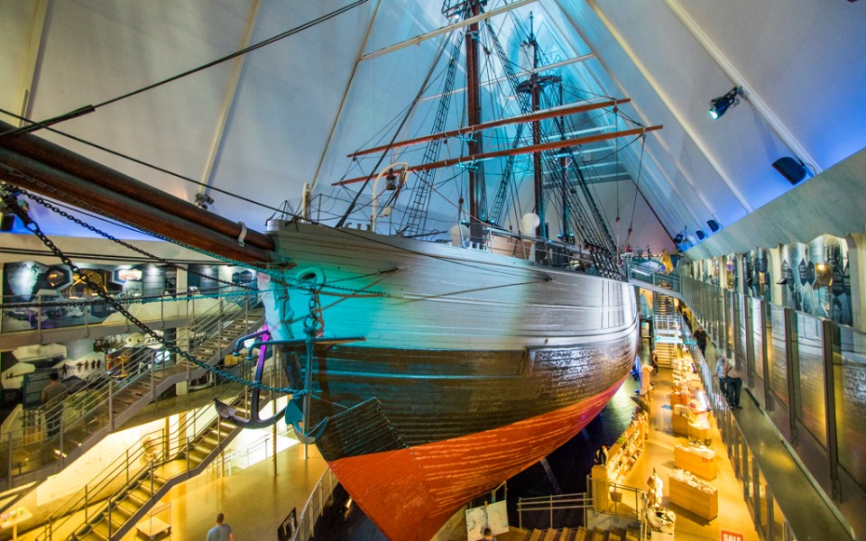 Oslo with kids - The Fram Museum