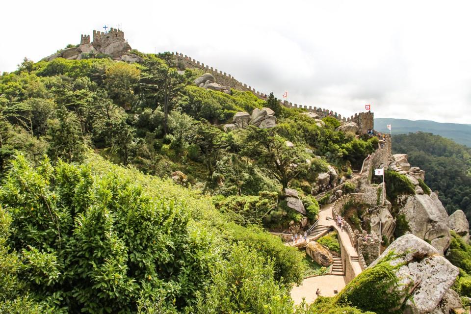 Moorish Castle Sintra-Portugal HoneyTrek.com