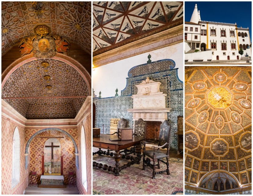 National Palace - Sintra Portugal HoneyTrek.com