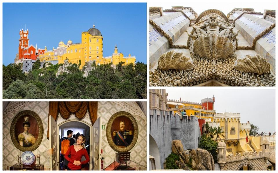 Pena Palace Sintra Portugal HoneyTrek.com