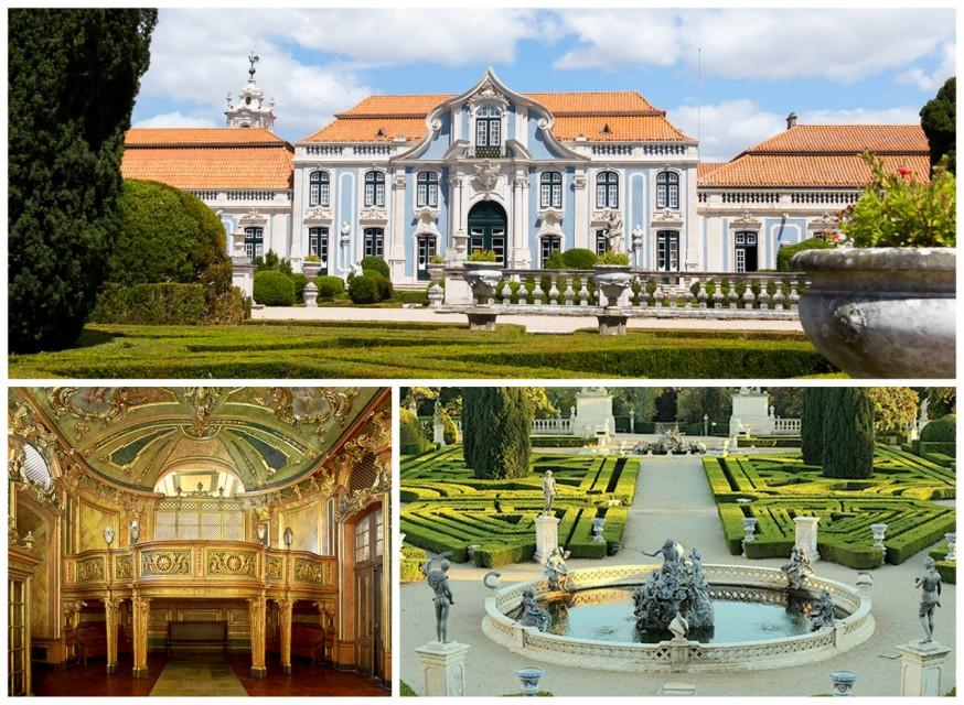 Palacio de Queluz Sintra Portugal HoneyTrek.com