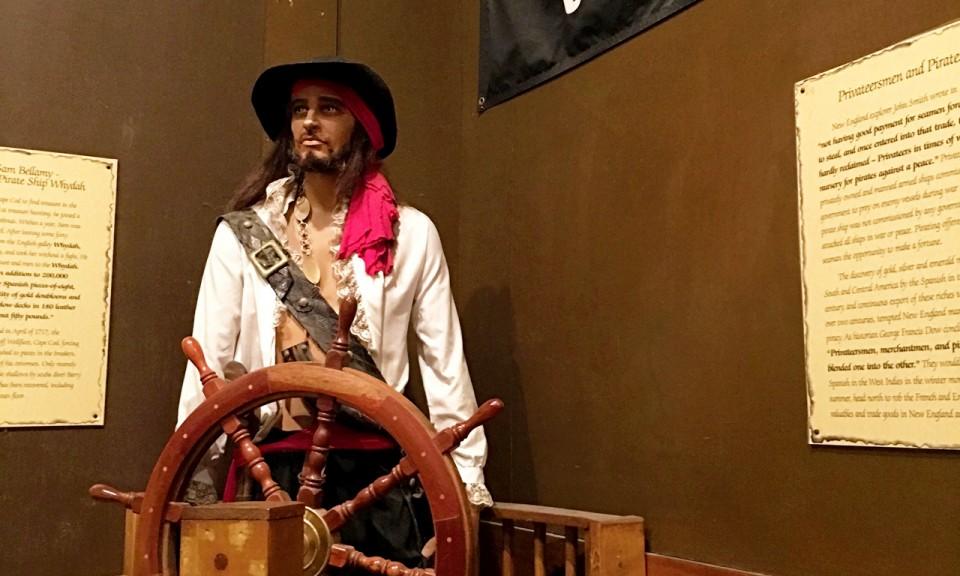 Pirates museum in Salem, MA - livingmividaloca.com