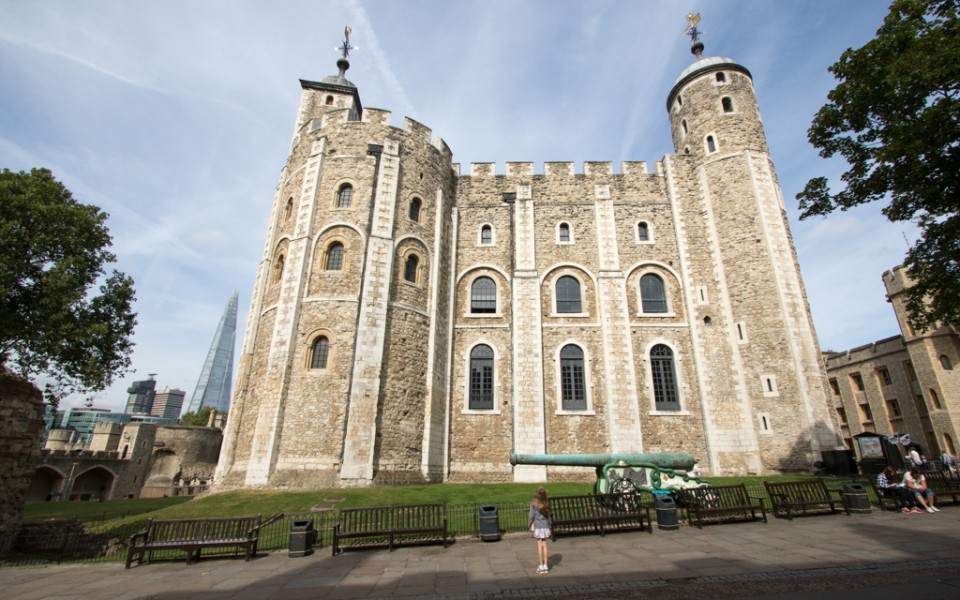 The Tower of London, early