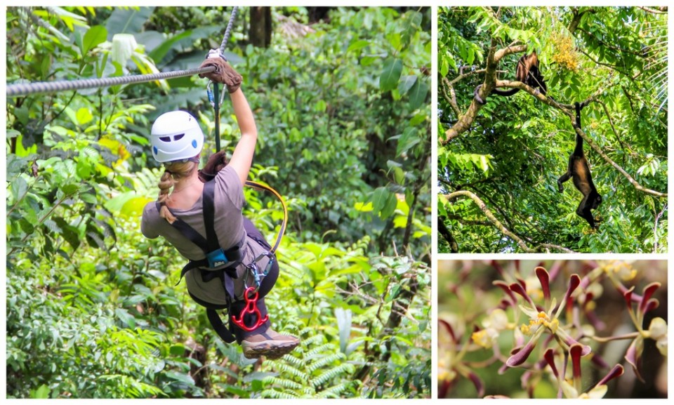 Zipline Costa Rica - HoneyTrek.com
