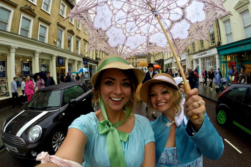 Angie Away jane Austen Festival Bath