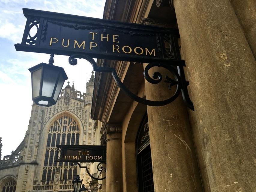 Jane Austen Pump Room Bath Angie Away