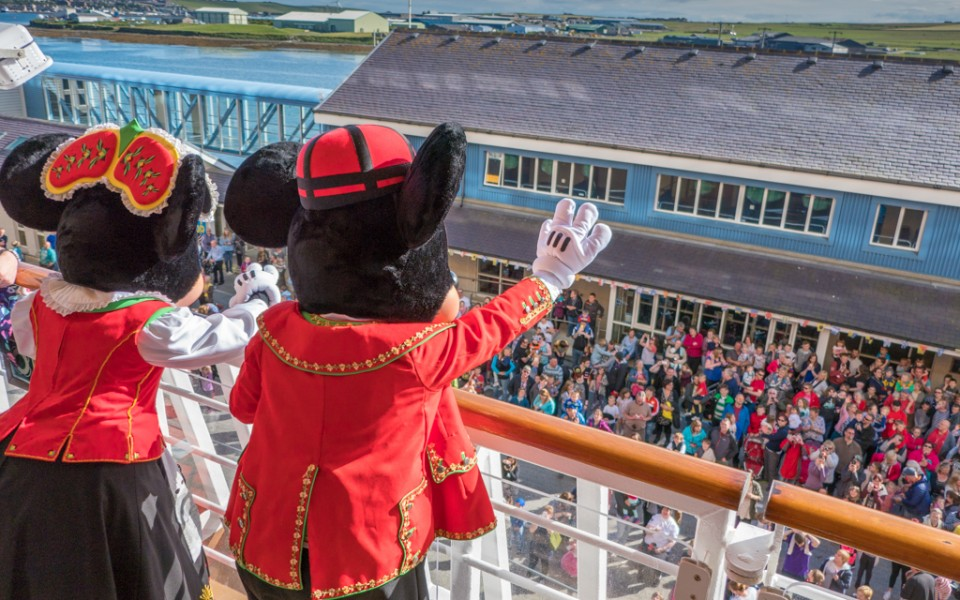 Disney Cruise - in Scotland