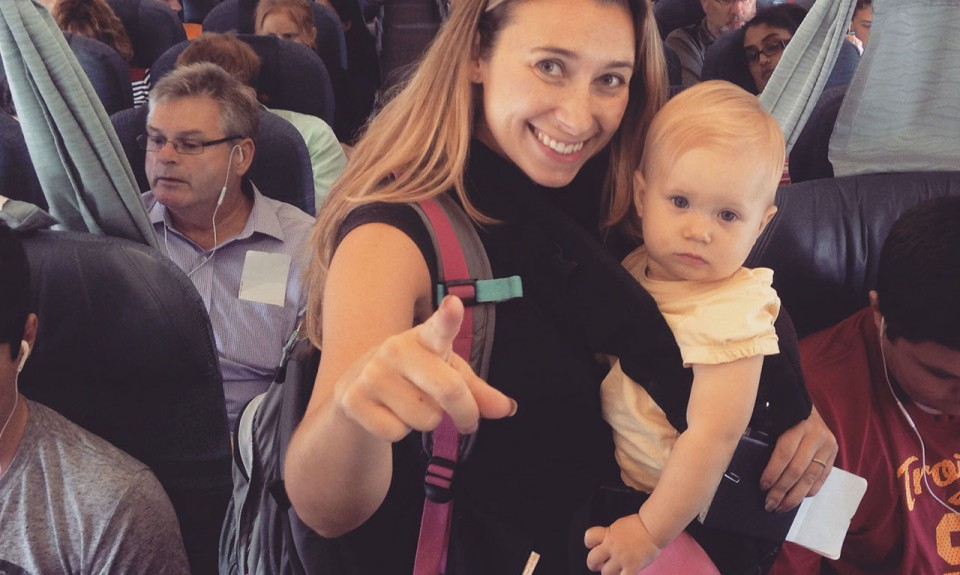 Travel Tips for Flying With a Baby or Toddler - Inspire