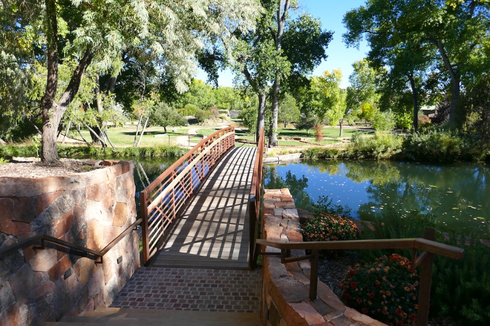 Sunrise Springs in New Mexico - Resort Bridge