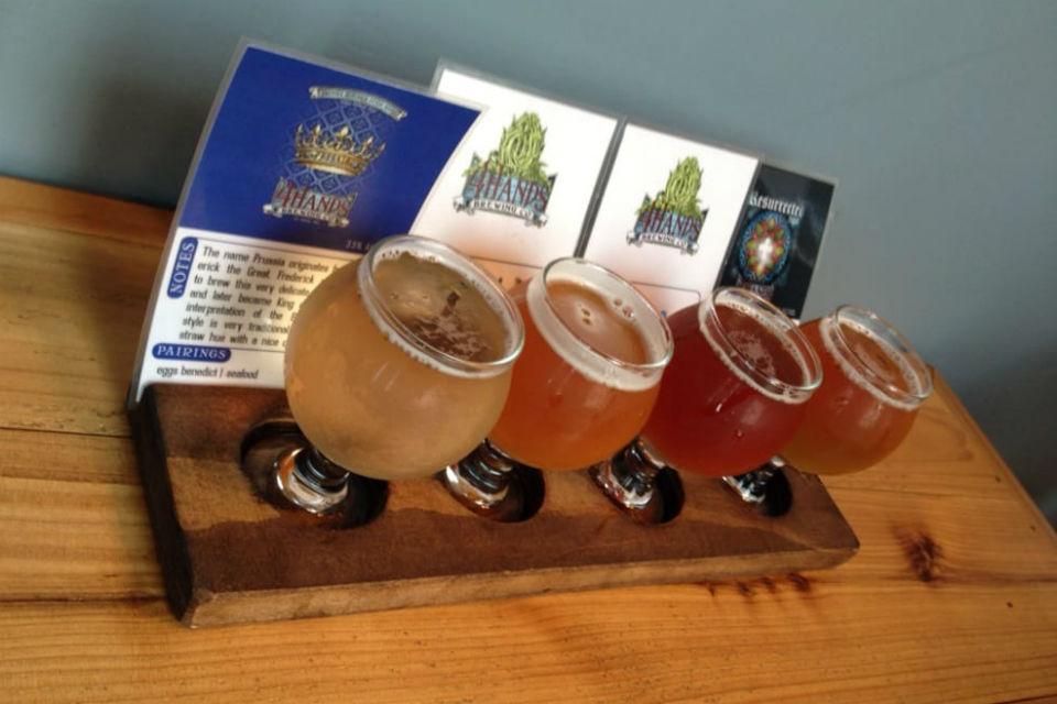 Seasonal Brews at 4Hands Brewery in St. Louis