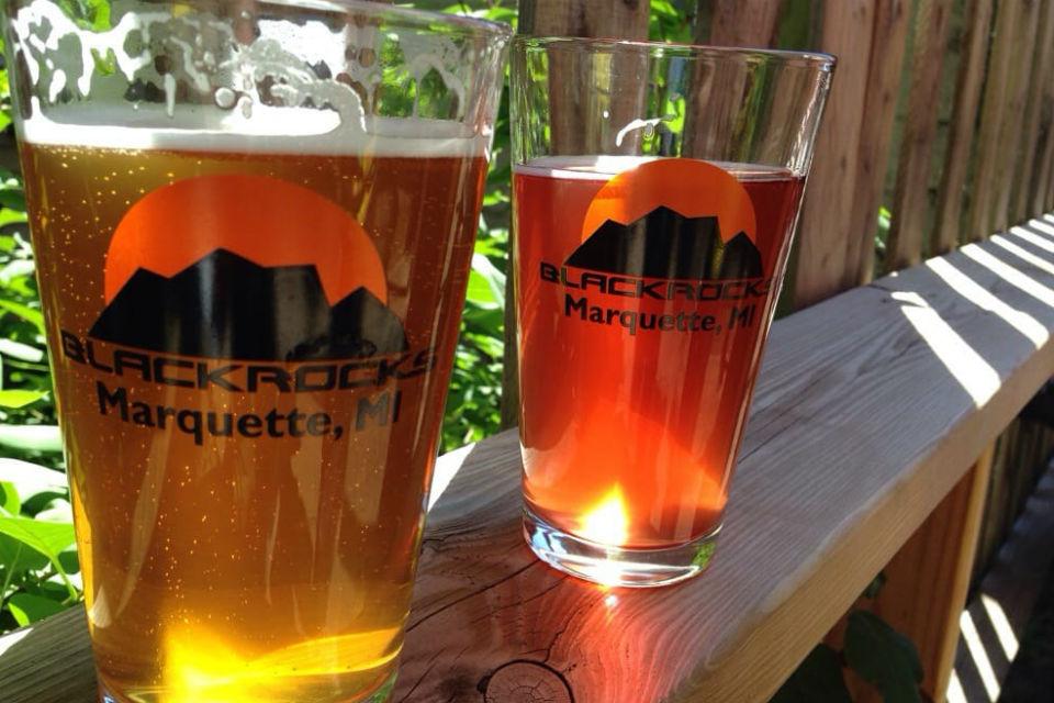 Seasonal Brews at Blackrocks Brewery in Marquette, MI