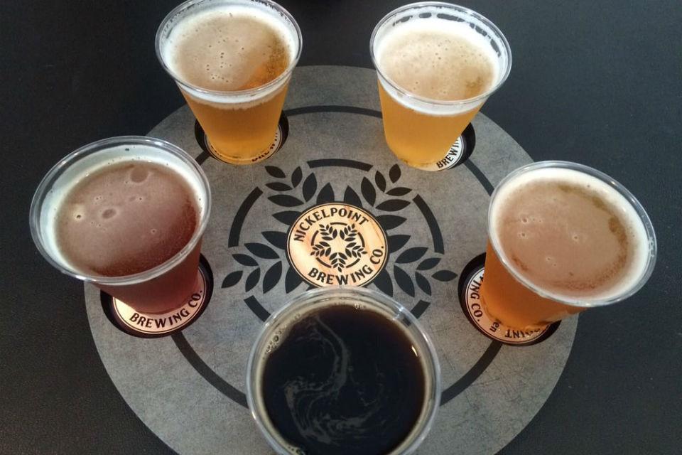 Seasonal Brews at Nickelpoint Brewing Co. in Raleigh, NC