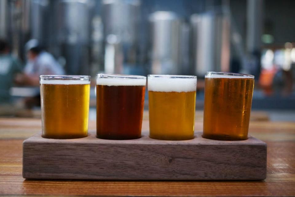 Seasonal Brews at Rhinegeist Brewery, Cincinnati, OH