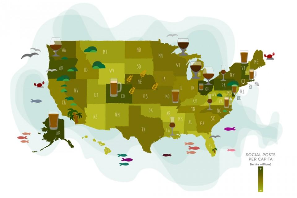 Seasonal Brews - Top 15 Cities Beer Graphic