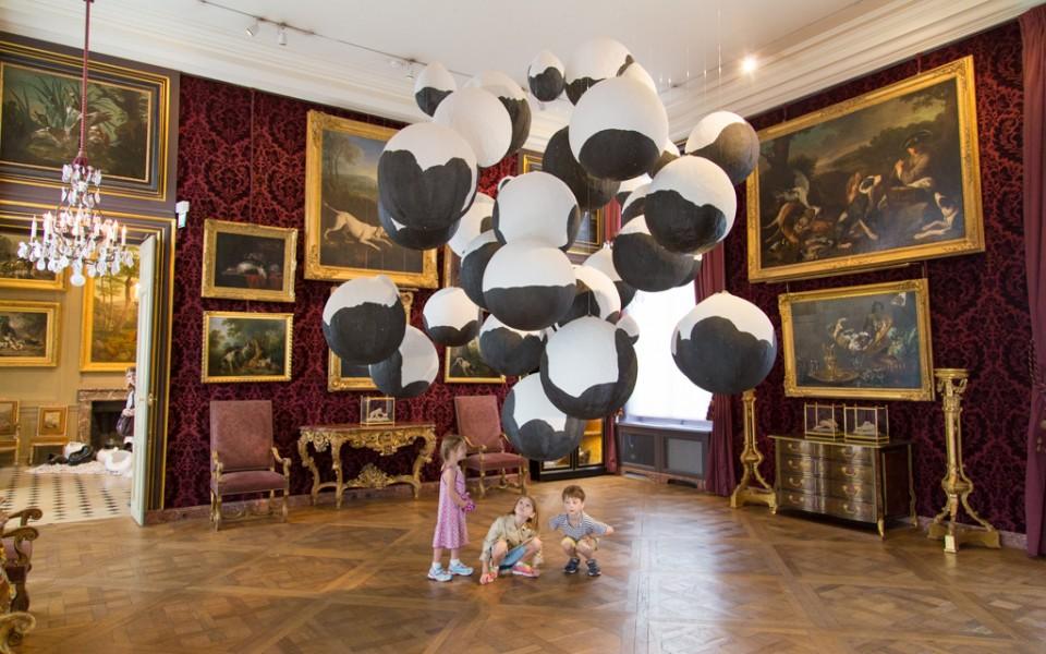 Paris with kids - At the Musée de la Chasse et de la Nature
