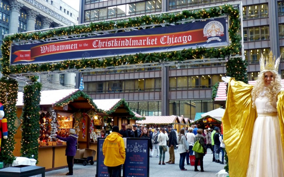 Best Events to Celebrate the Holidays in Chicago - Christkindlmarket - Travelocity