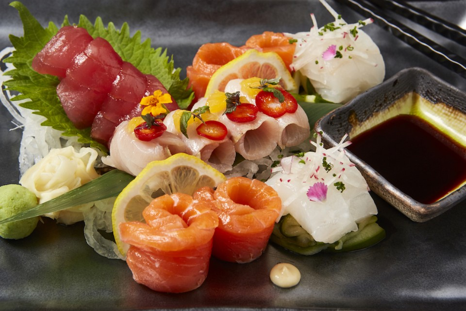 Departure Restaurant + Lounge: Michael Persico, Sashimi in Denver