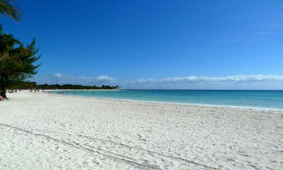 Beach At Maya Palace By Susan Lanier Graham Mexican Riviera