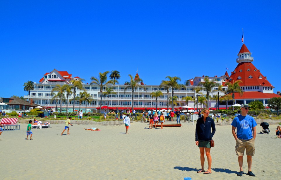 Photo by Marilyn Jones of TravelwithMarilyn - Coronado Beach, San Diego