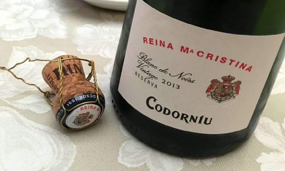 Reina MaCristina Codorniu Bottle