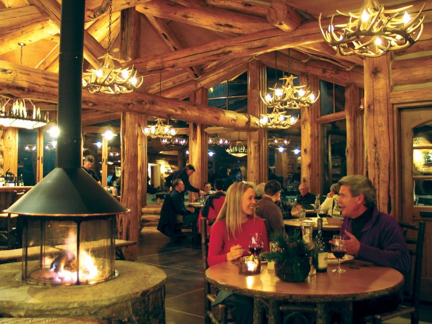 Pine Creek Cookhouse in Aspen, Colorado - Courtesy of Pine Creek Cook House
